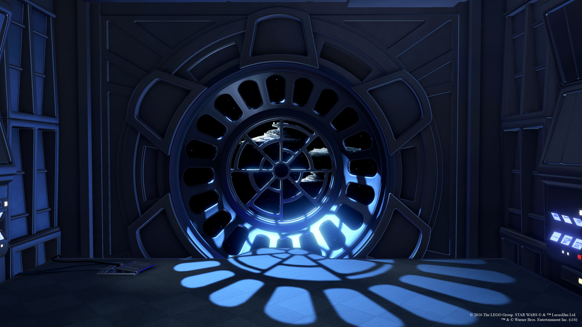 Emperor S Throne Room Star Wars