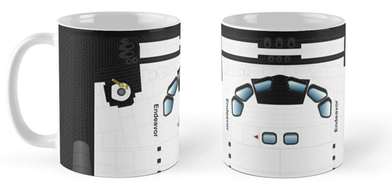 Jeff mcdowall shuttle mugs white