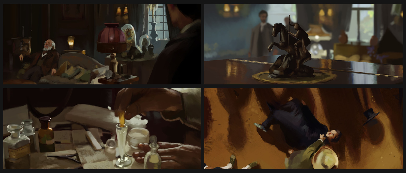 Cloud atlas color studies