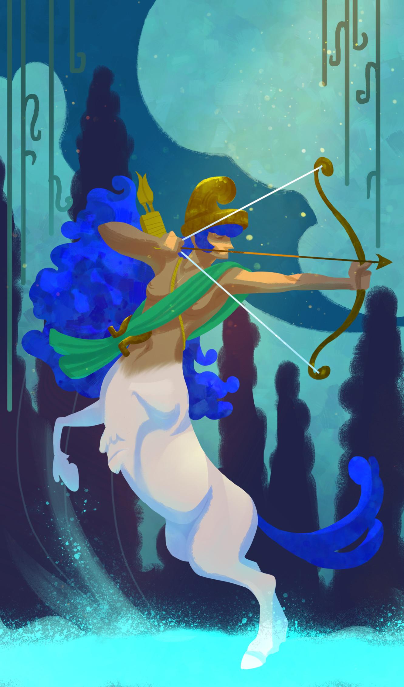 Vivien lulkowski centaur archer