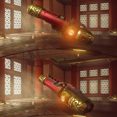 Hong chan lim wukong gun