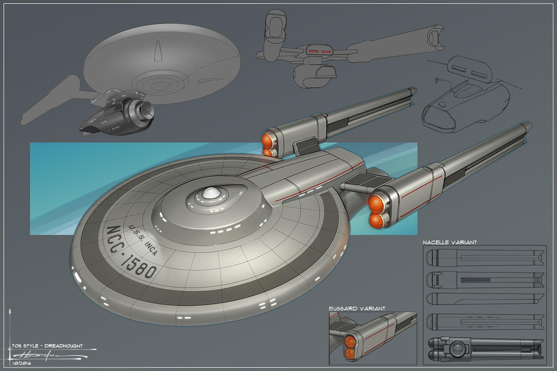 ArtStation - Atlas Class - Prototype Dreadnought Cruiser