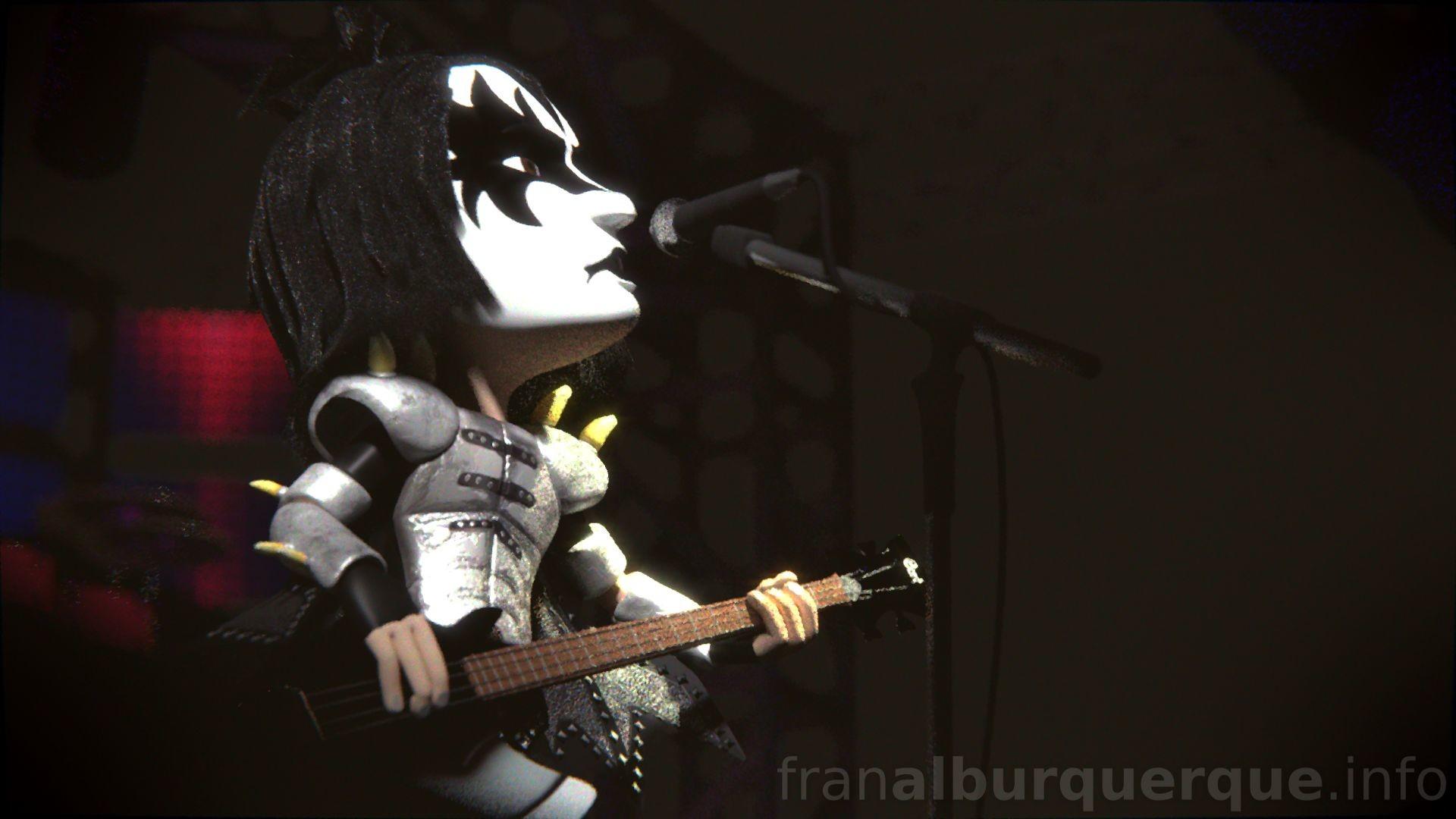 Fran alburquerque 3d kiss 06