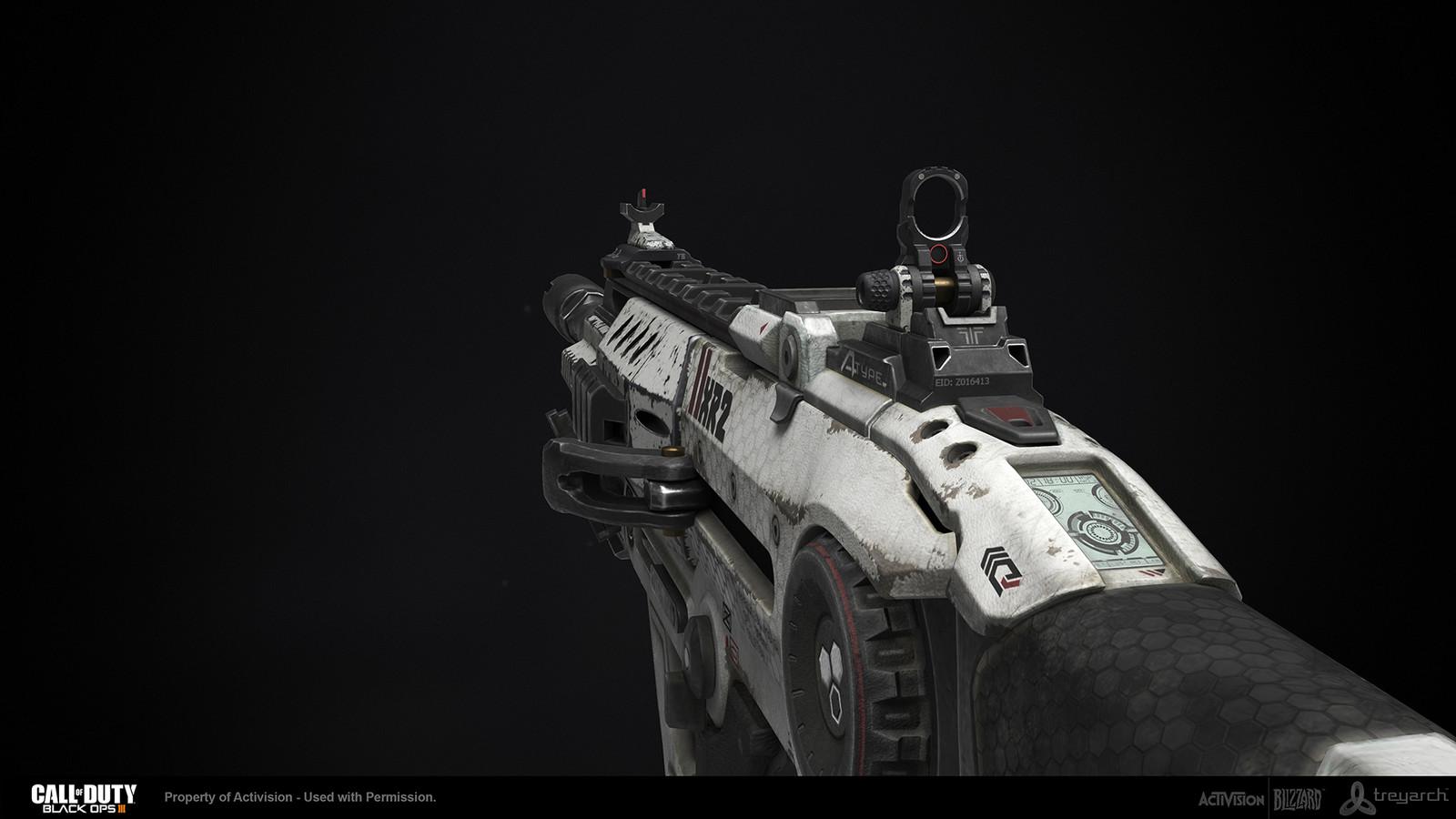 ArtStation - Call of Duty: Black Ops 3 - XR2 AR, Caleb Turner