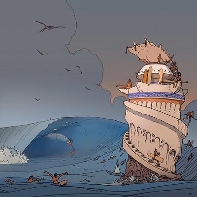 Victorin ripert surf teahupoo