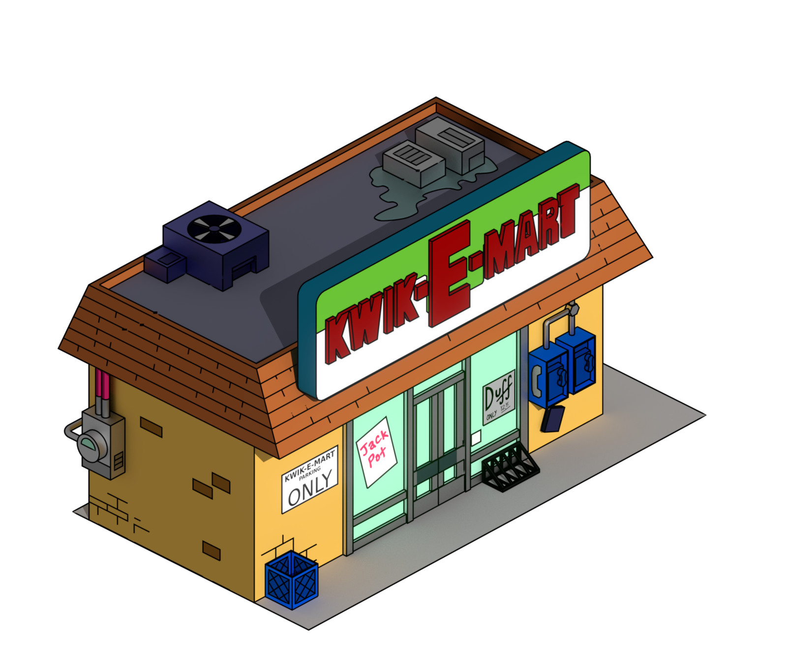 KWIK-E-MART - Screenshot
