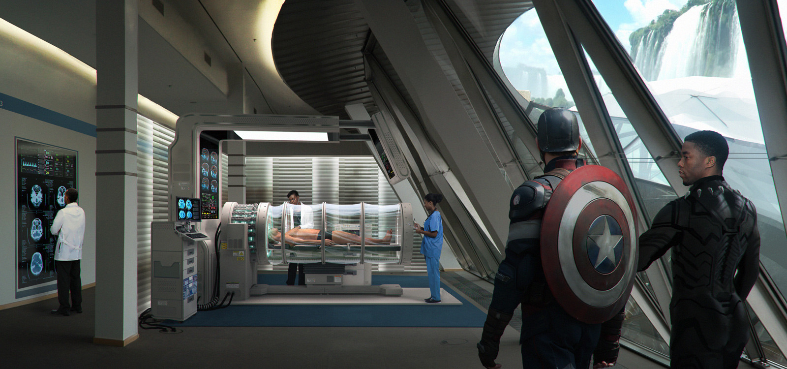 Captain America : Civil War - Wakanda Medical