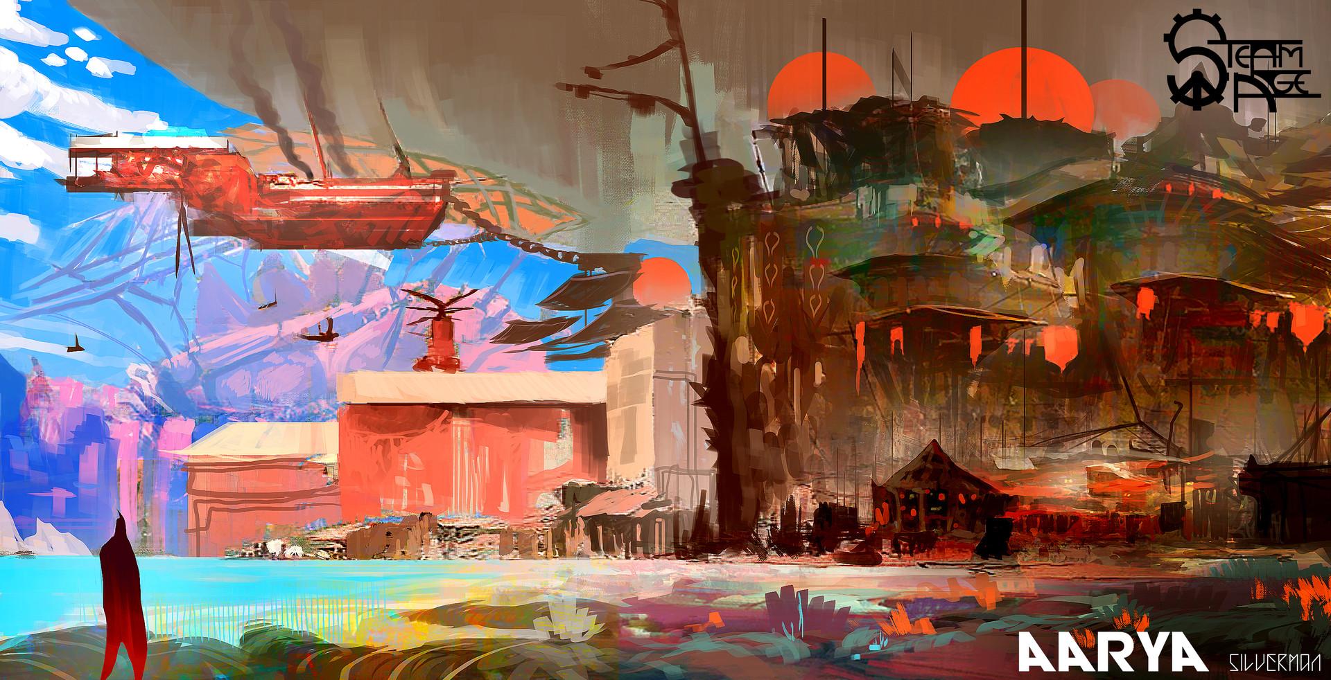 Samuel silverman aarya city concept 2