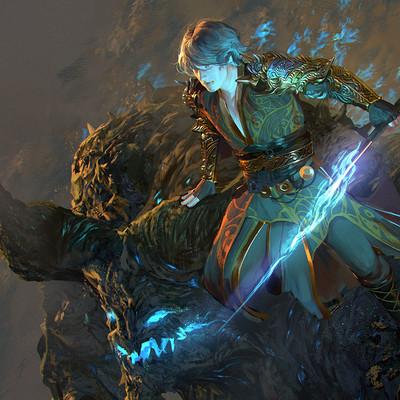 Sarayu ruangvesh leresus the void battle mage
