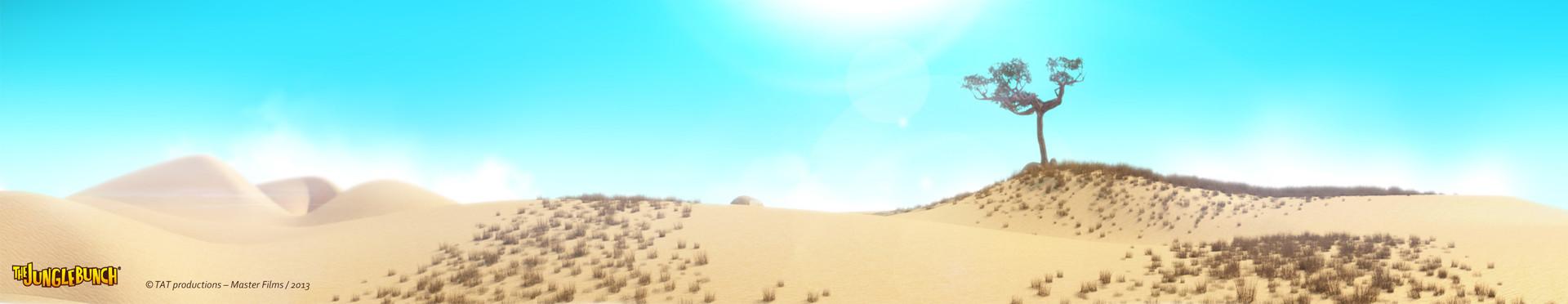 Mickael lelievre savannah desert pano 02