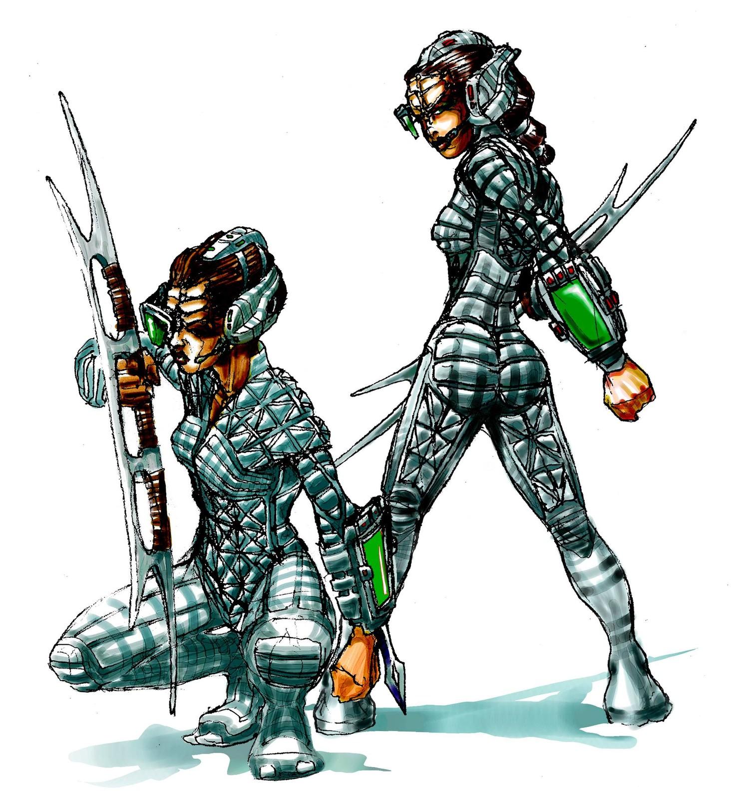 Stealth Warriors