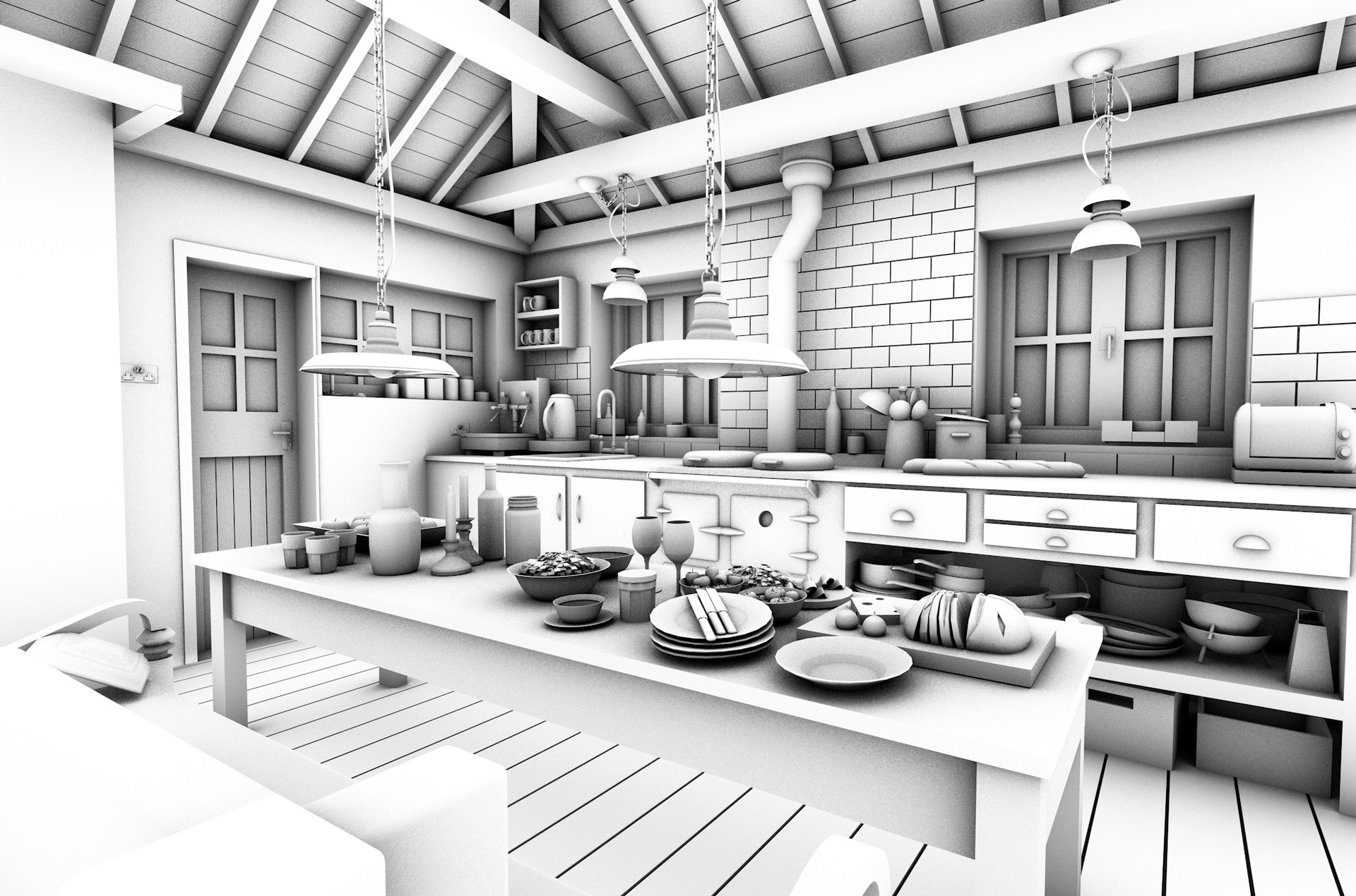 Noa Jacob - Kitchen