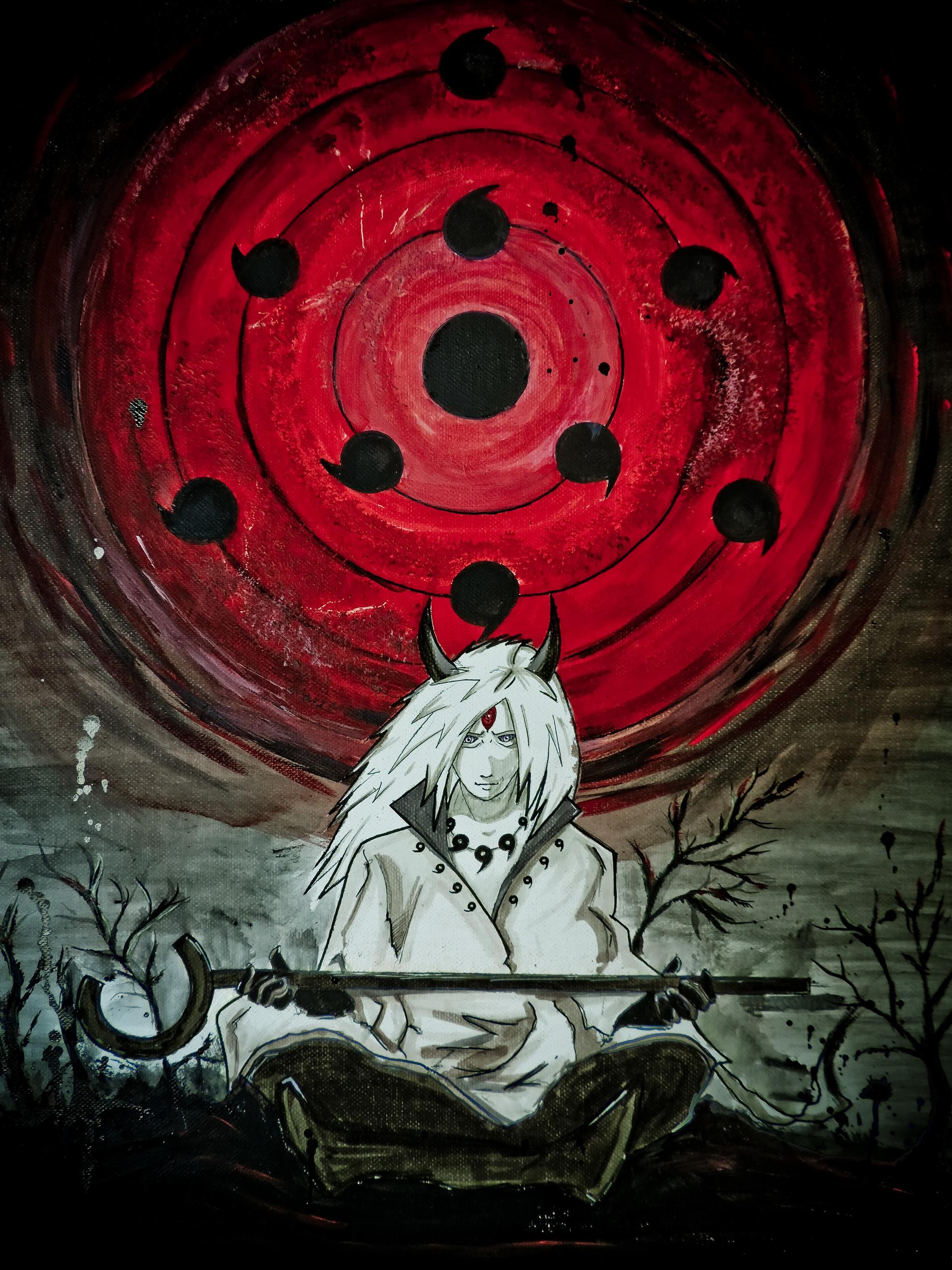 gabito lopez zelaya madara uchiha full moon eye