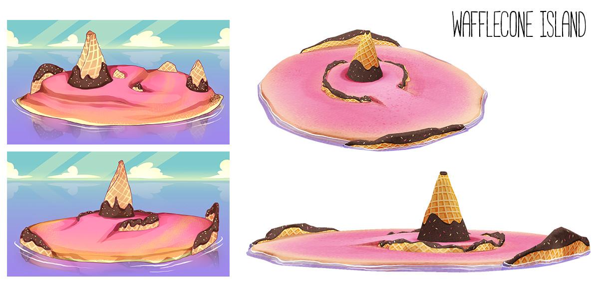 Marie bonhoure waffle island