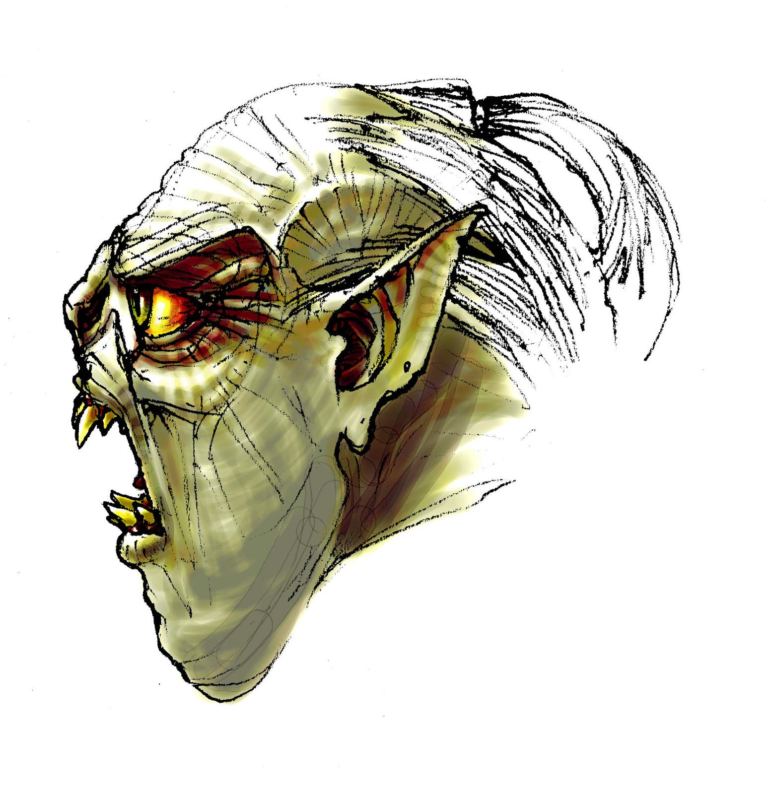 Goblin head concept