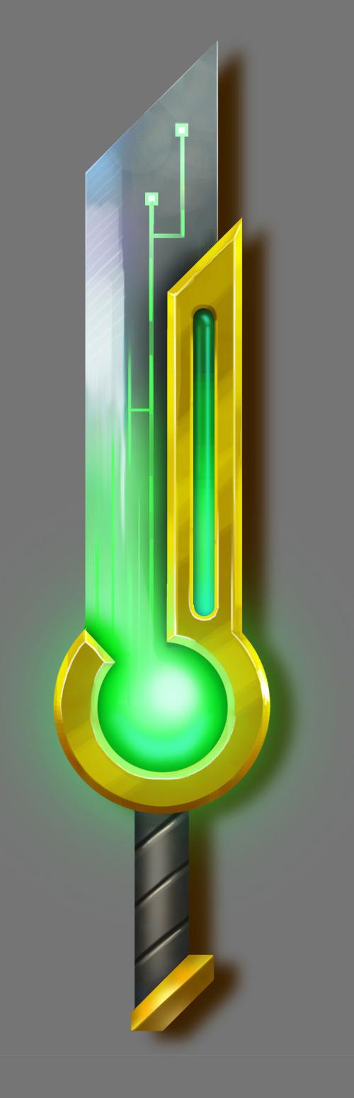 Oziel leal salinas concept sword 2