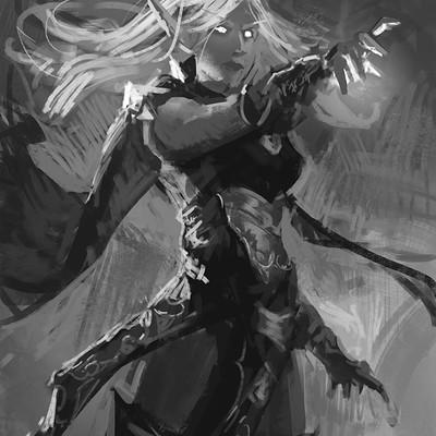 Sebastian horoszko 80 slightly magical elvish lady