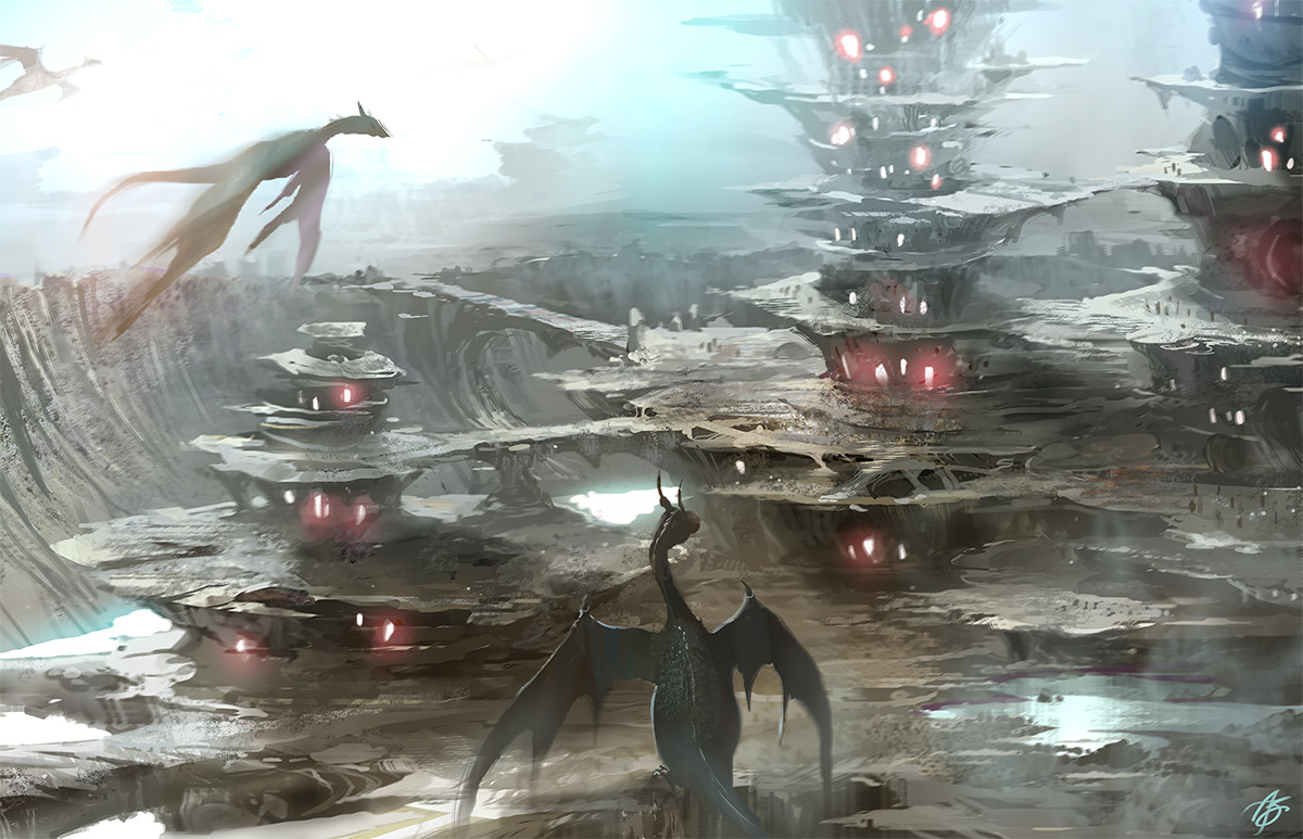 Allen song dragons crater