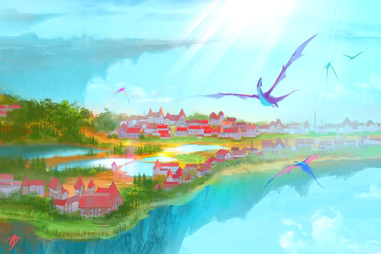 Allen song sky earth