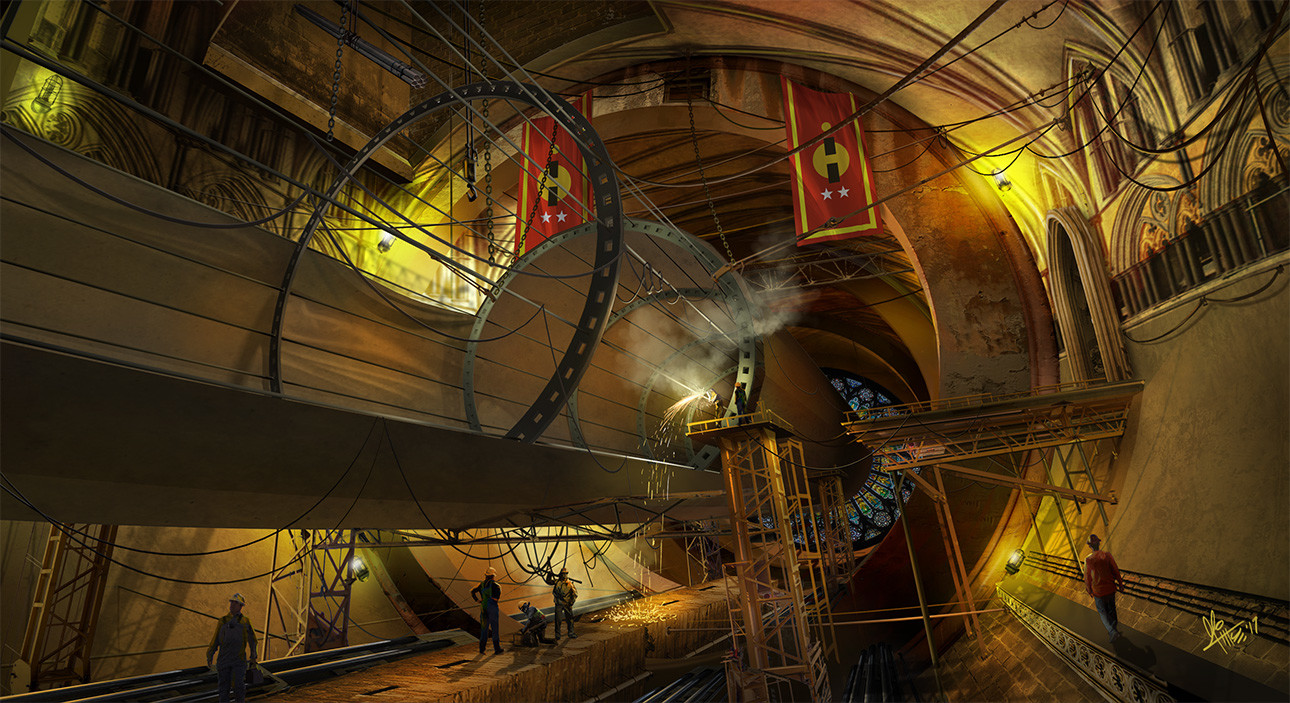 Mirsx agic zeppelin facility