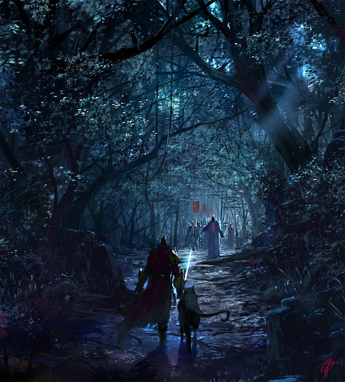Allen song dark forest