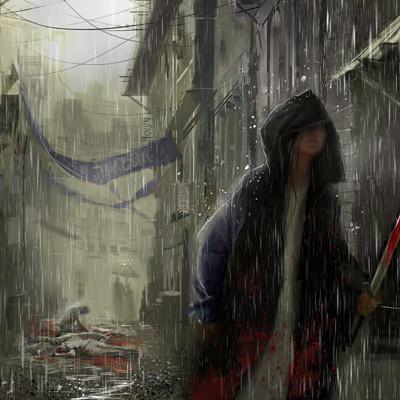 Allen song rain