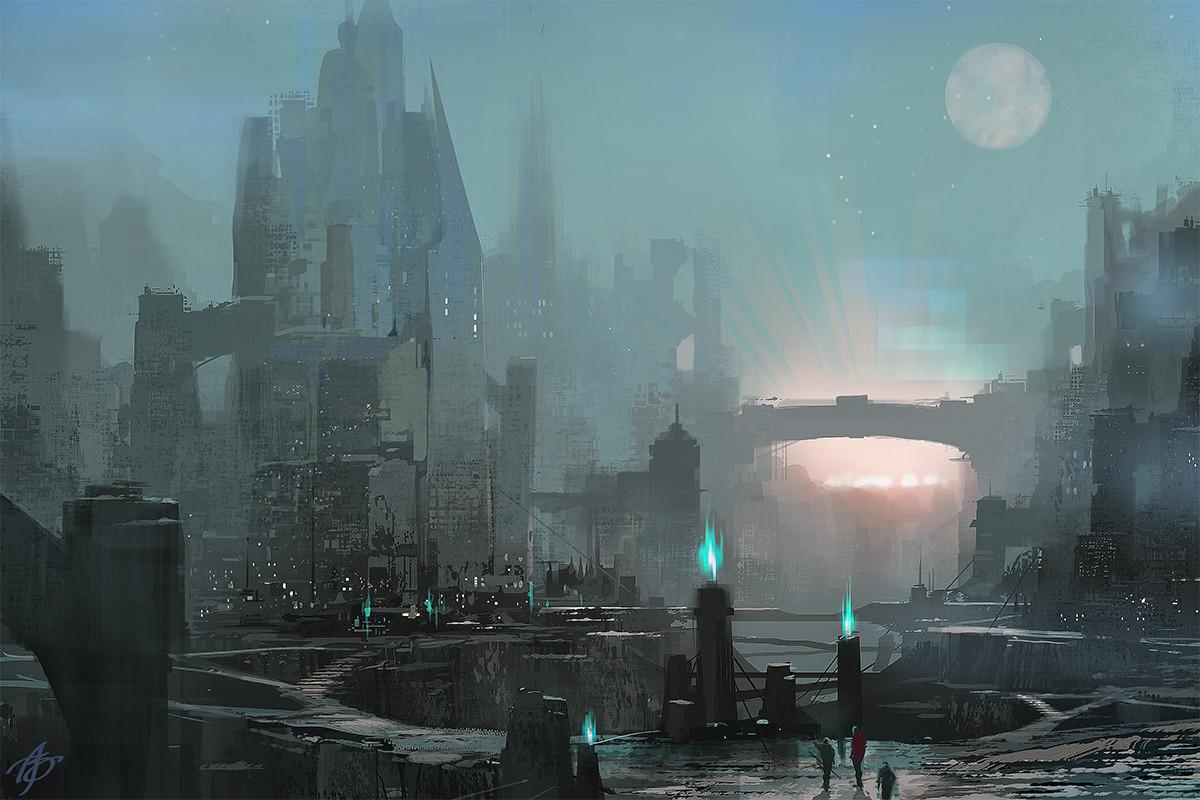 Allen song alien ruins