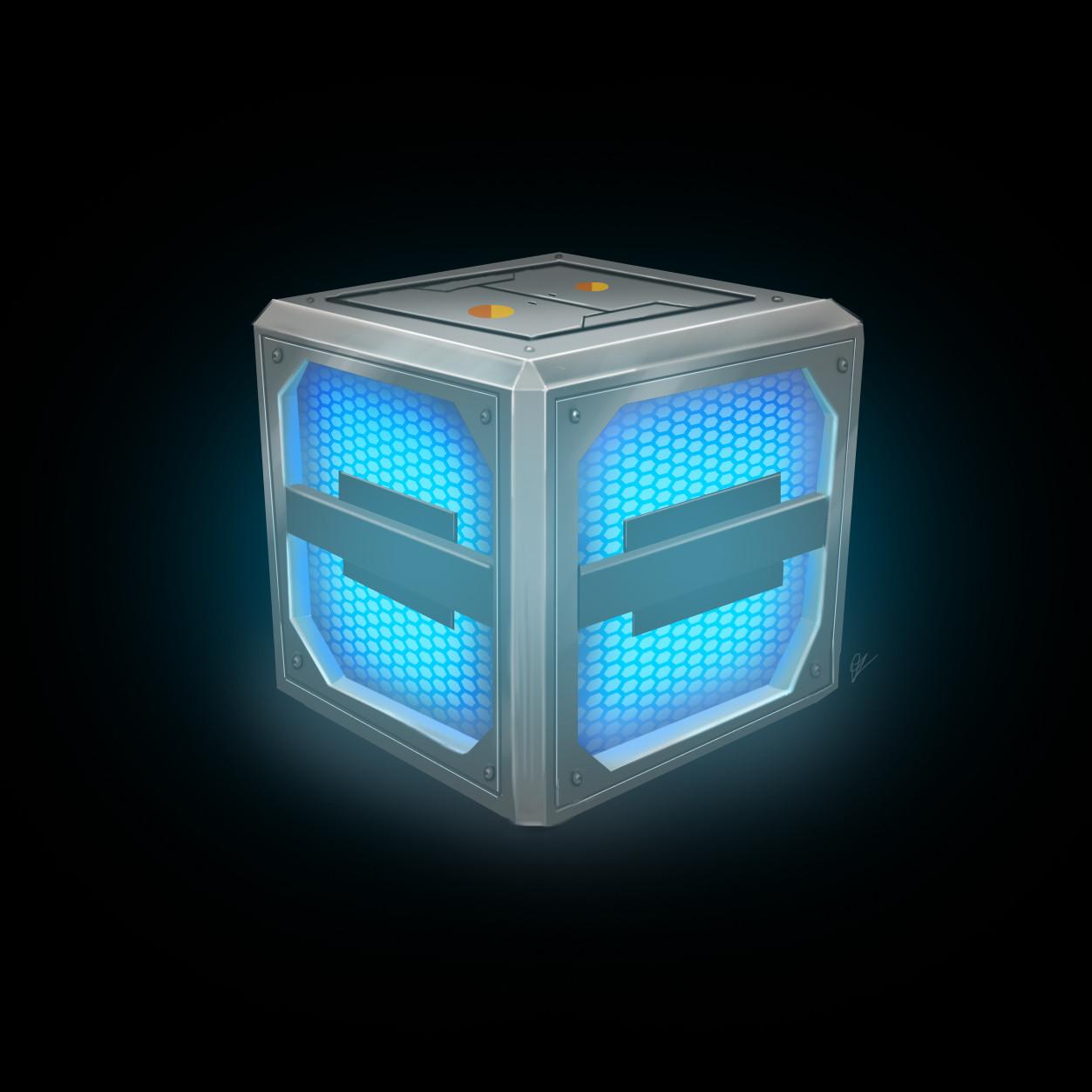 Oziel leal salinas sci fi crate