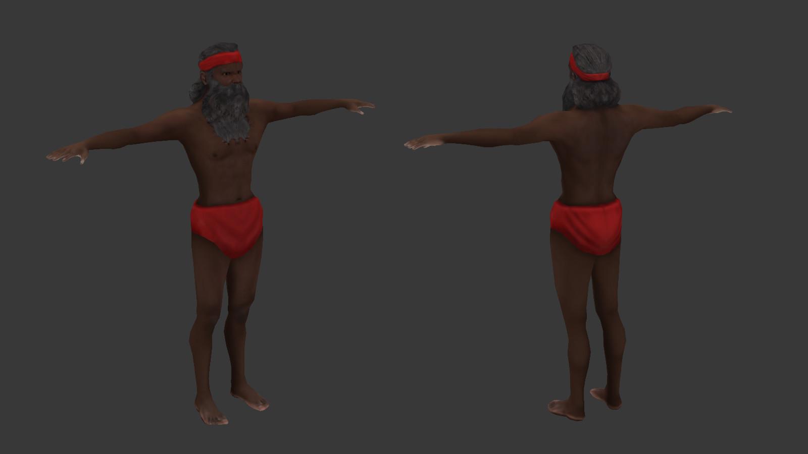 Oziel leal salinas african elder 2