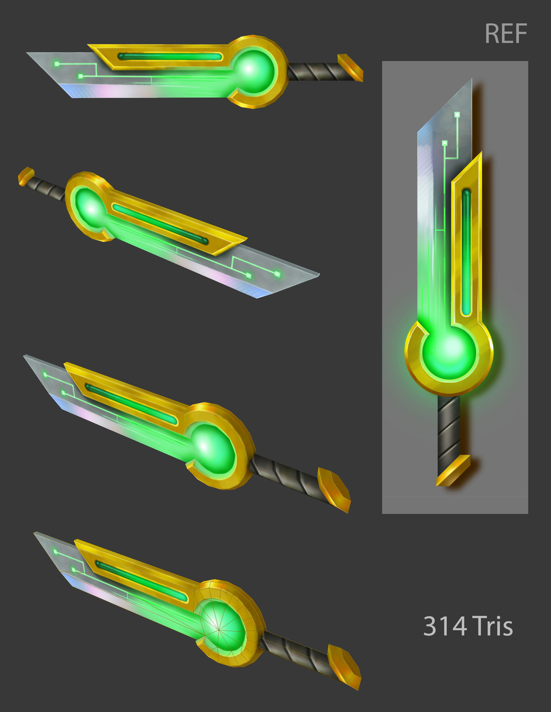 Oziel leal salinas sci fi sword