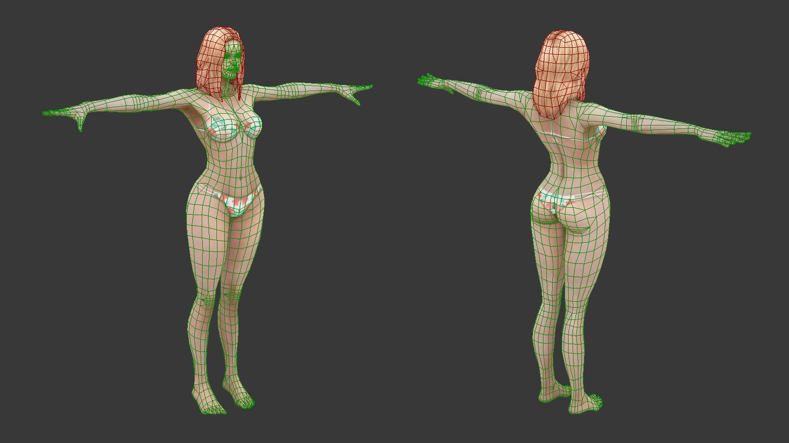 Oziel leal salinas bikini woman white 5