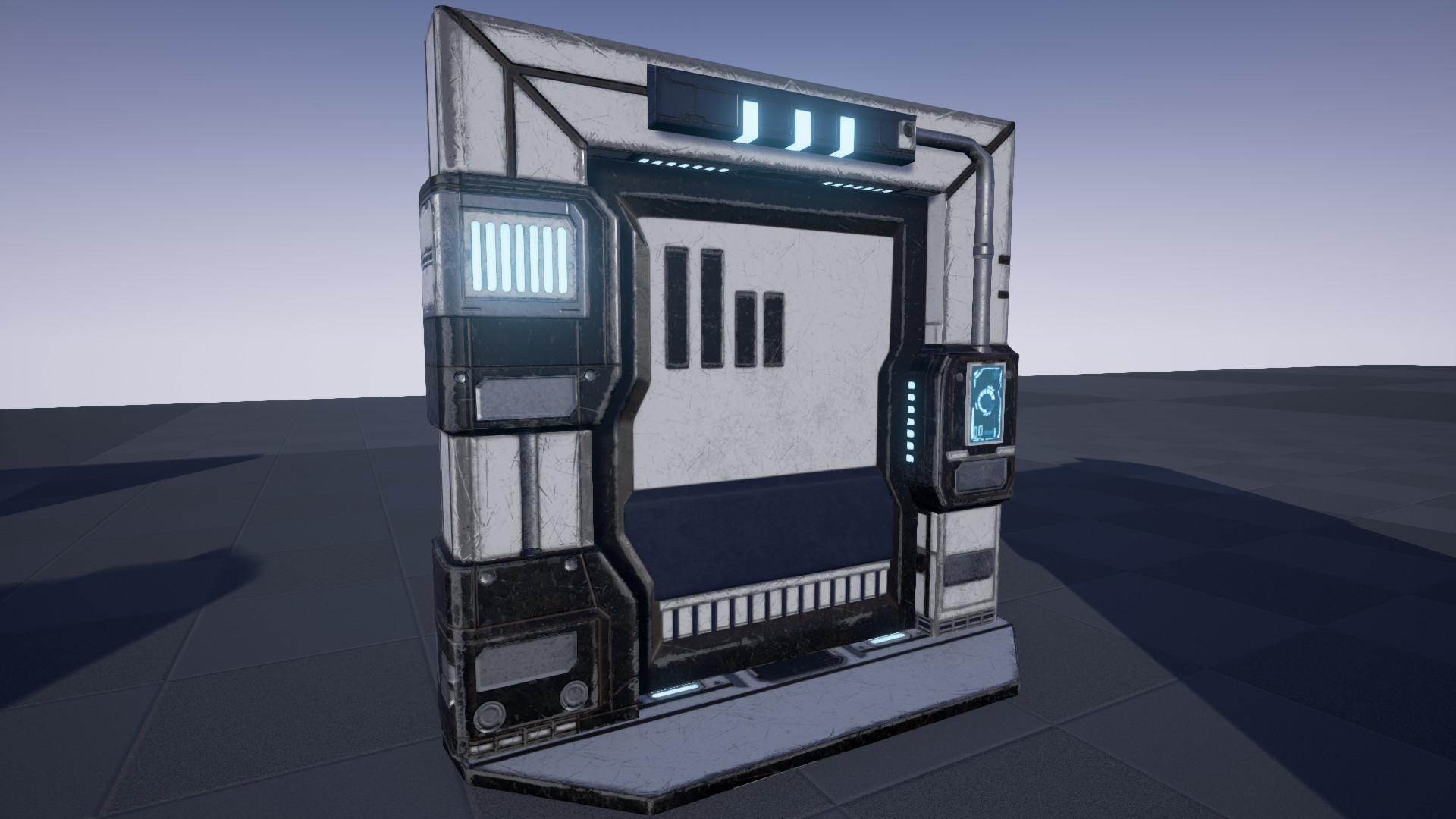 Artstation scifi animated doors pack unreal marketplace cg wulf sci fi animated doors pack malvernweather Image collections