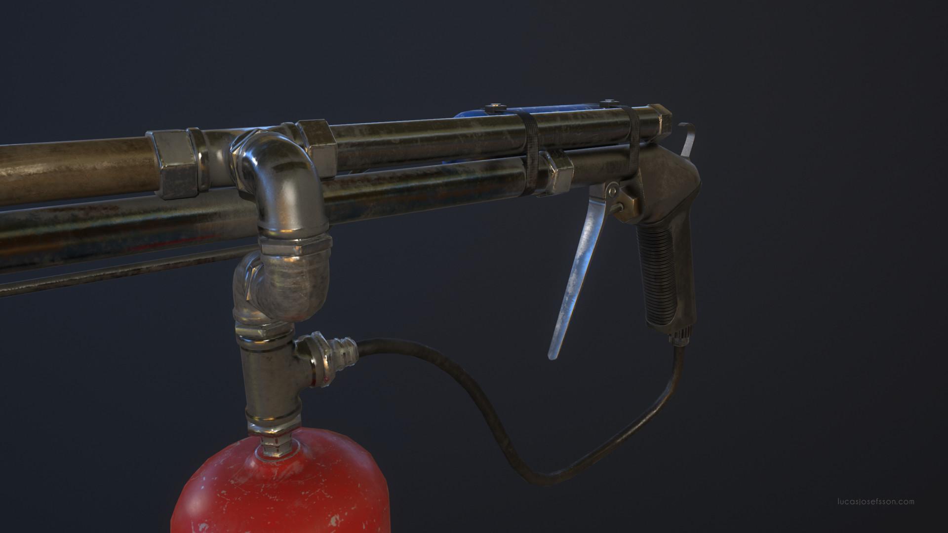Lucas josefsson flamethrower