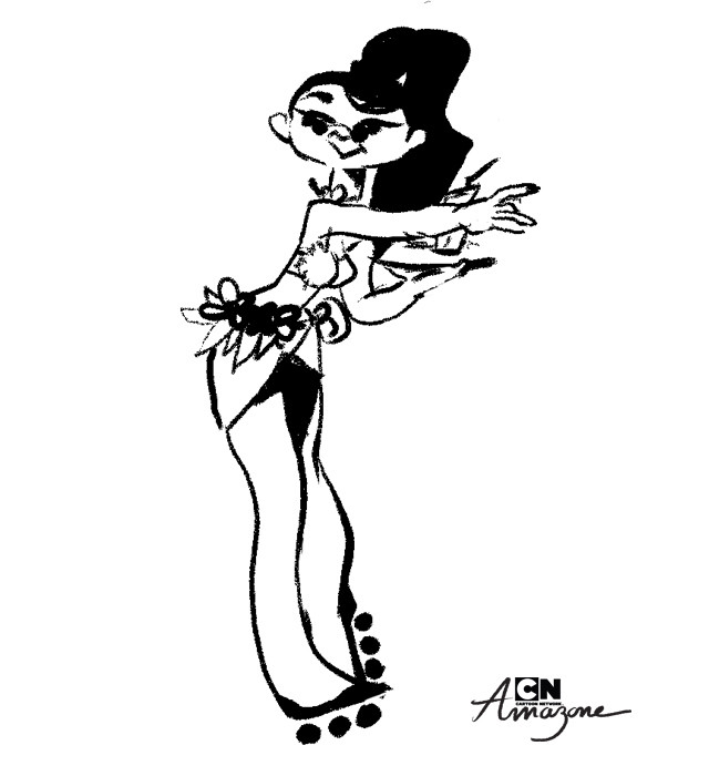 Anais marmonier anais marmonier concept art cartoon network amazone tropical island girl