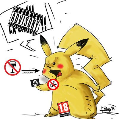 Ronald bousseau pikachu et la censure ronaldbousseau