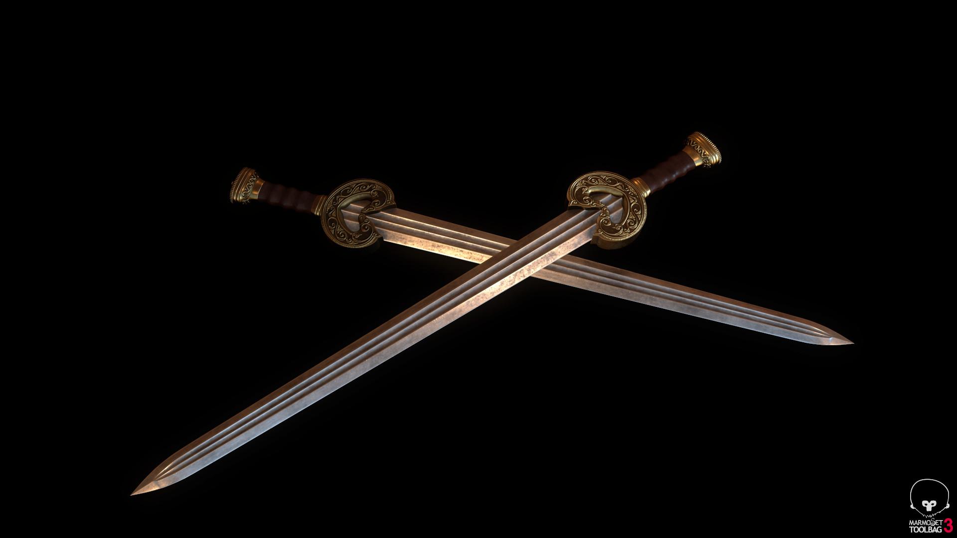 Bela csampai s4h herugrim sword preview mt 02
