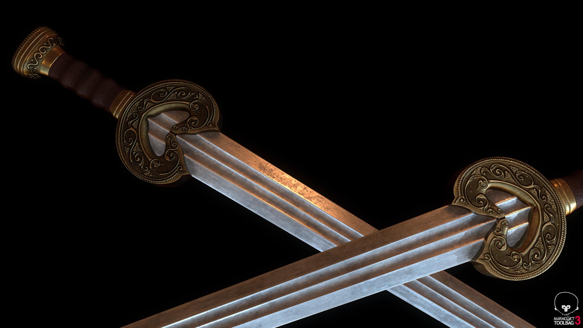 Bela csampai s4h herugrim sword preview mt 05