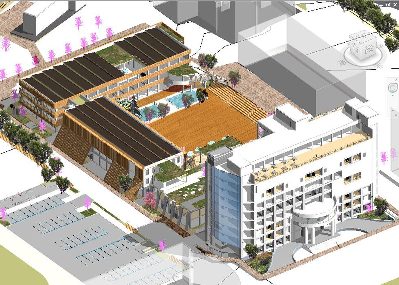 Architecture design - NUU college school
