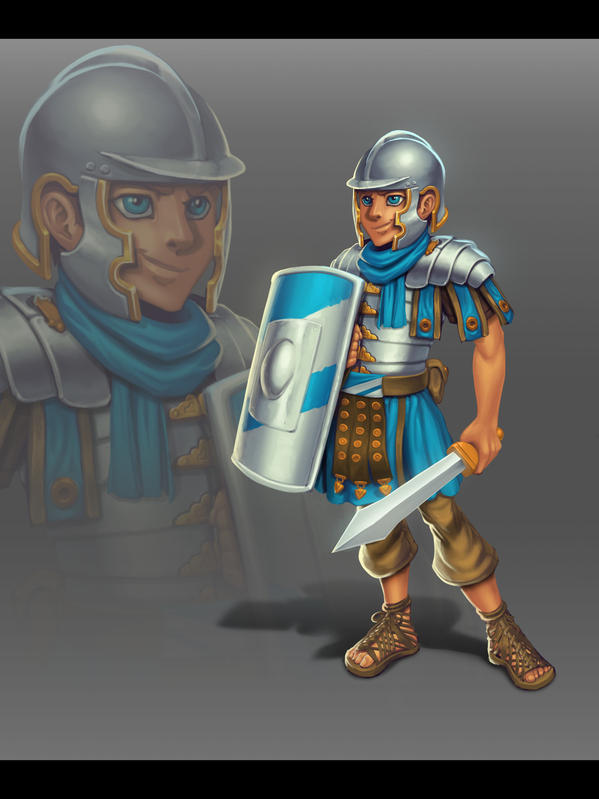Concept Roman Warrior