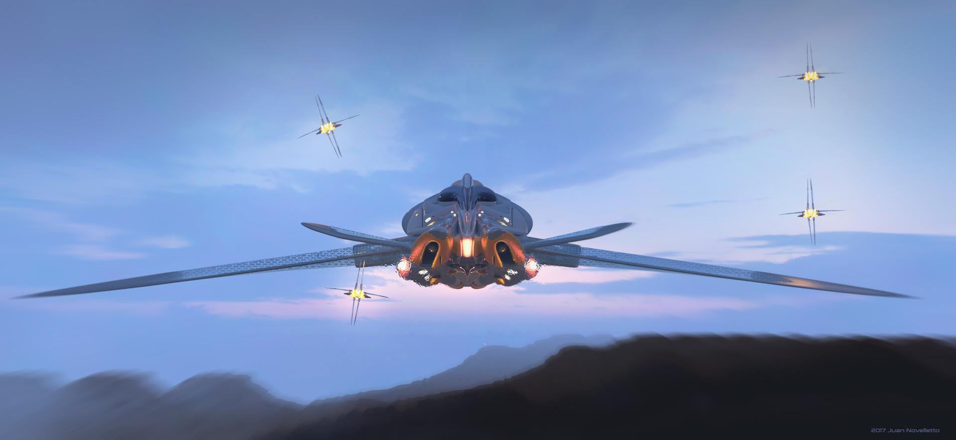 Juan novelletto alien ship03bbb
