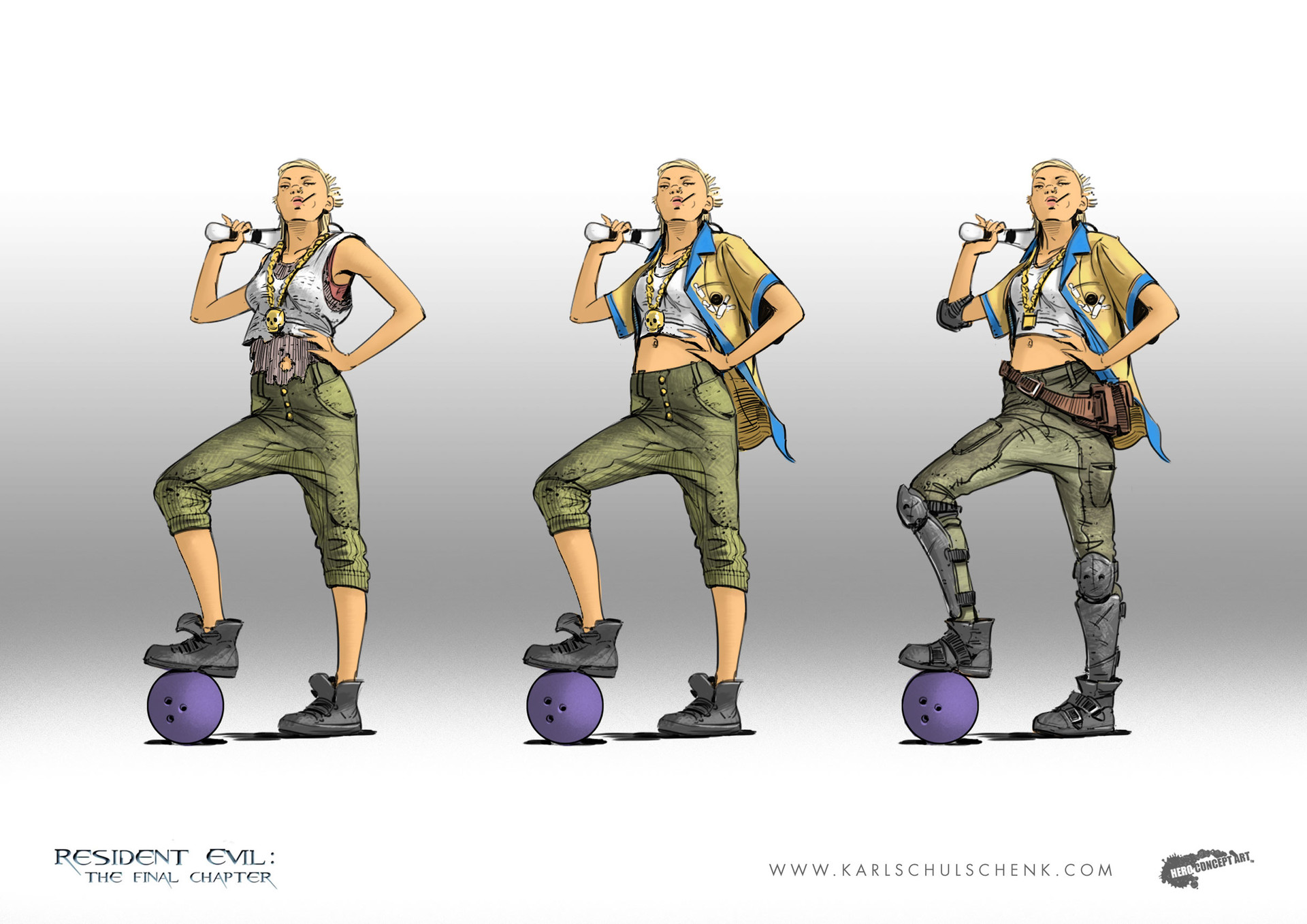 Artstation Resident Evil The Final Chapter Karl Schulschenk