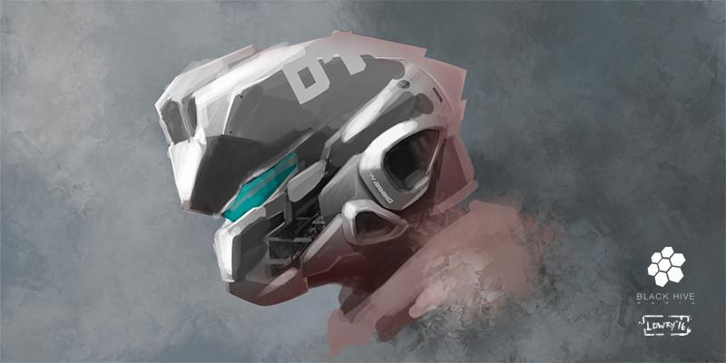 Blake lowry helmet concept blake small