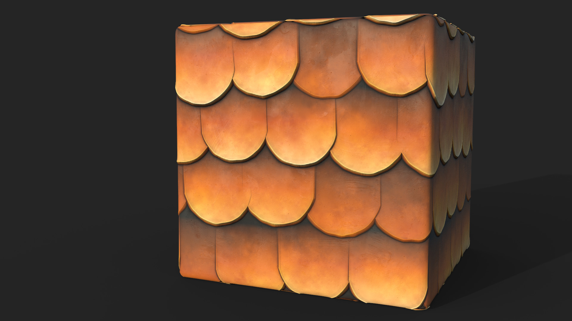 Matej chalachan tiles roof iray