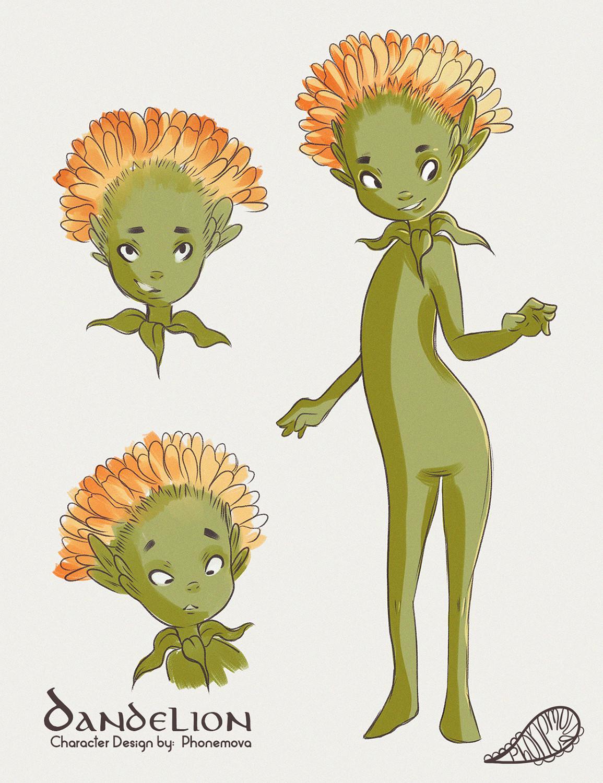 Vanessa morales dandelion chara by phonemova