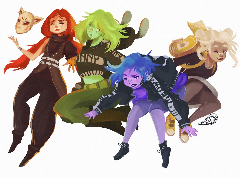 R-Girls squad