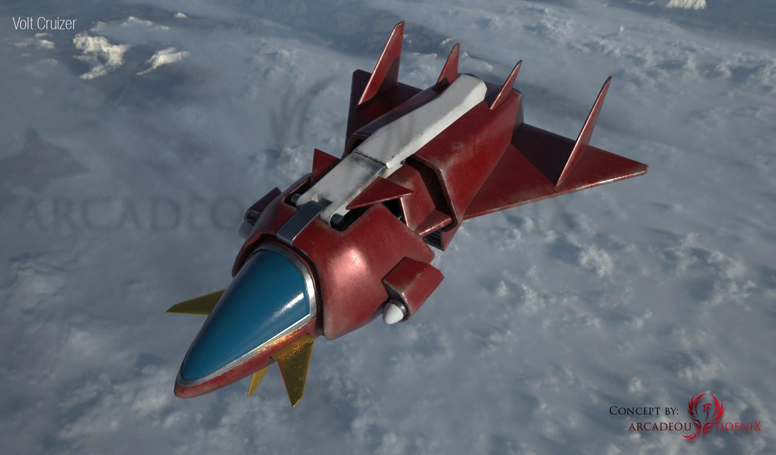 Arcadeous phoenix volt cruiser cam1
