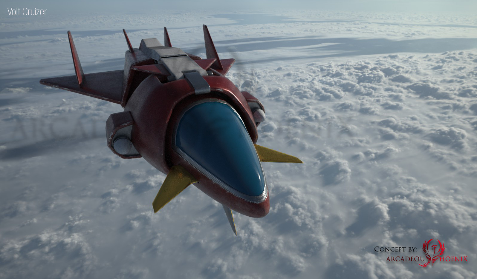 Arcadeous phoenix volt cruiser cam4