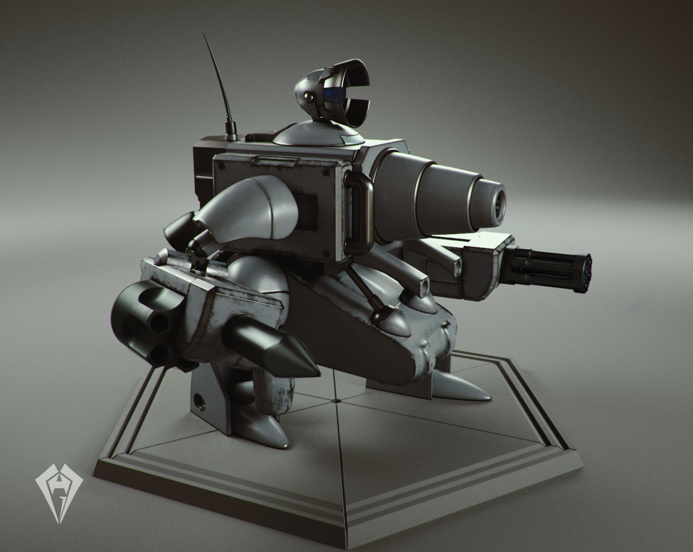 Slug Gunner - Metal Slug 5 by Hugo Matilde