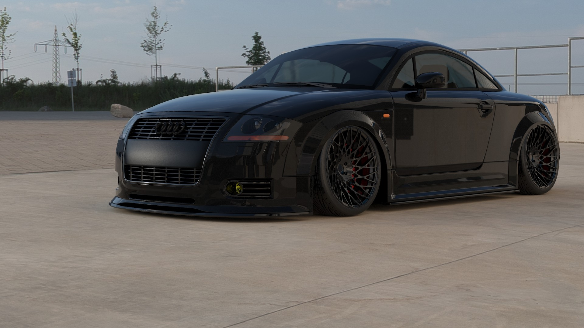 daniel duru stanced audi tt mk1. Black Bedroom Furniture Sets. Home Design Ideas