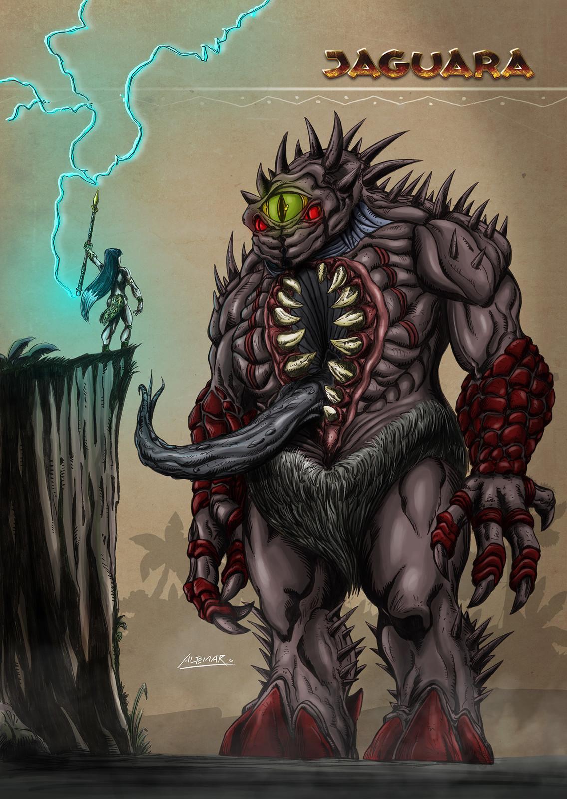 Mapinguari - The most powerful and bigger creature Jaguara has ever faced